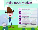 Hello Body Bundle | Mindfulness, Whole Body Listening, Self Regulation