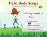 Hello Body Song Versions