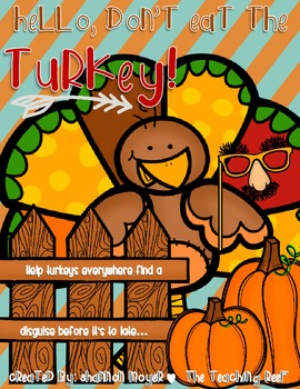 Hello, Don't Eat The Turkey {A Thanksgiving Day Creative Writing Unit}