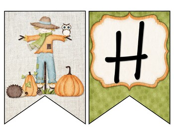 Hello Fall Banner - Fall Leaves - Fall Banner - Bulletin Board