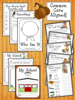 Hello, Fall! Fun Activities for First Grade