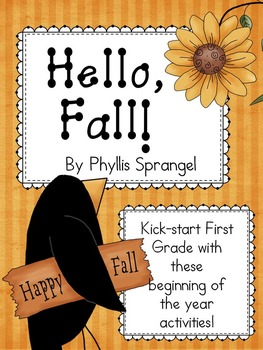 Hello, Fall! Fun Activities for First Grade