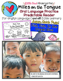 Fish, Fish, In the Ocean Blue: Miles on the Tongue Oral Language Practice Reader