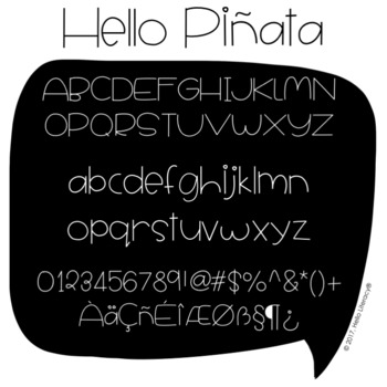 Commercial Font License: All Hello Fonts for One User {Lifetime License}