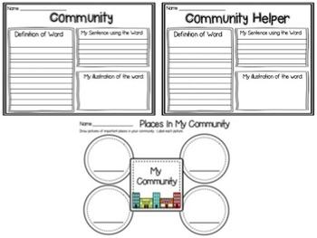 Hello, Good Neighbor: Communities and Community Helpers