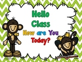 Hello Goodbye Attendance Book
