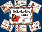 Hello / Goodbye Slides for Online Teacher (Vipkid)