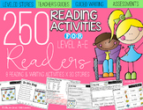 Guided Reading: 250 Reading Activities for Level A-E Readers