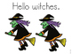 Hello Halloween Poem and Activities