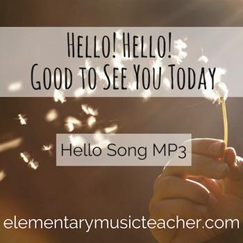 Hello! Hello! Good to See You Today: Hello Song MP3