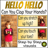 Hello Hello...can you clap your hands! Welcome song with g