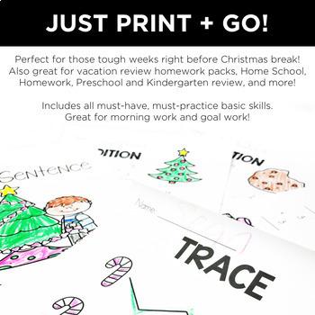 Hello Holidays Basic Skills NO Prep Pack!