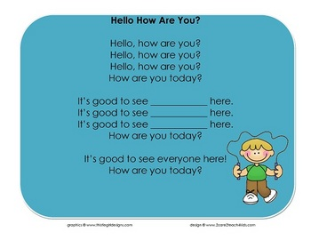 Hello, How Are You? - Song Chart