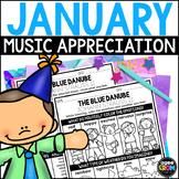 Hello, January, Winter Music Listening, New Year Activitie