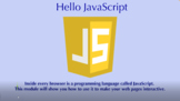 Hello JavaScript - A JavaScript Intro (Distance Learning)
