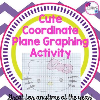Cute Coordinate Plane Graphing Activity