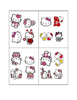 """Hello Kitty """"Find-It-Fast!""""- Easy"""