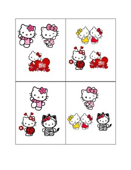 "Hello Kitty ""Find-It-Fast!""- Tot Edition"