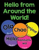 Hello Language Posters