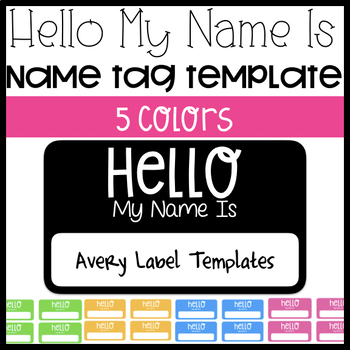 picture regarding Name Tag Printable called Good day My Popularity Is Avery Label Reputation Tag Template
