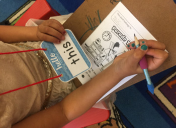 Hello My Name Is ____! {SIGHT WORDS}