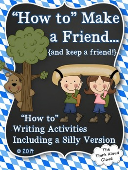 """Hello Neighbor!"" - How to Make a Friend {""How To"" Writing Activities}"