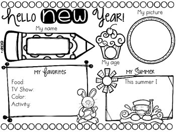 Hello New School Year! [FREEBIE!]