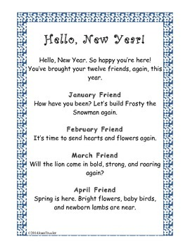 Hello, New Year (Freebie Poster)