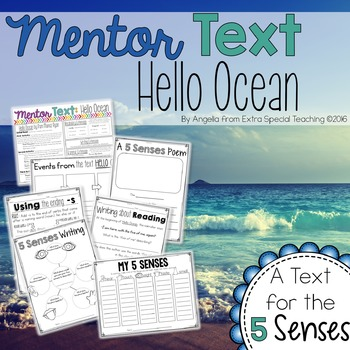 Hello Ocean - A Mentor Text for Reading and Writing