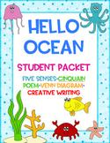Hello Ocean by Pam Muñoz Ryan Student Packet Ocean Day No Prep!