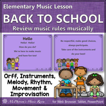Hello: Orff, Rhythm, Melody, Instruments, Improvisation and More