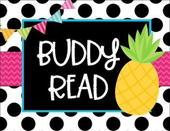 Hello, Pineapple Daily Literacy Signs