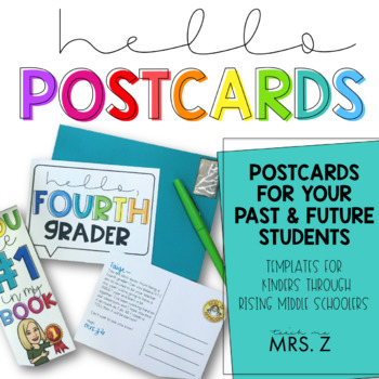 Hello Postcards for Students
