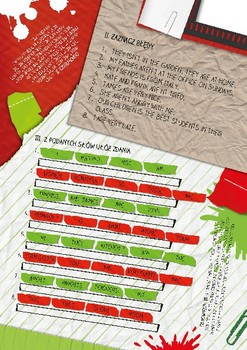 Hello School Grammar Notepad - Sample PL Version