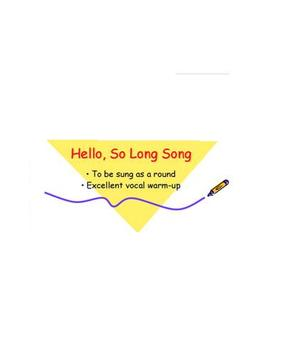 Hello, So Long Song mp3