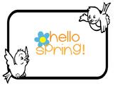 Hello Spring! Birdfeeder Adapted Book