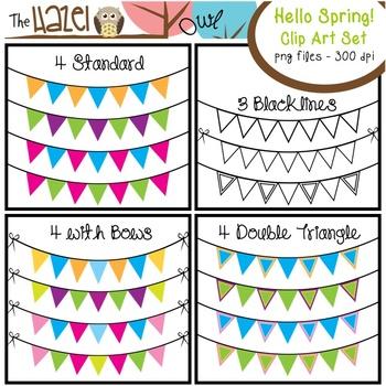 Hello Spring Set: Clip Art Graphics for Teachers