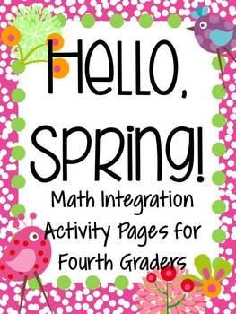 Hello, Spring! Springtime Math for Fourth Graders