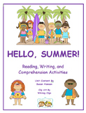 Summer Season: First or Second Grade Hello Summer