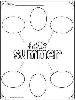 Hello Summer {ice cream craft!}
