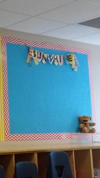 Hello Sunshine Banner, Summer, Lemonade, Sunshine Theme, Pink, Yellow, and Blue