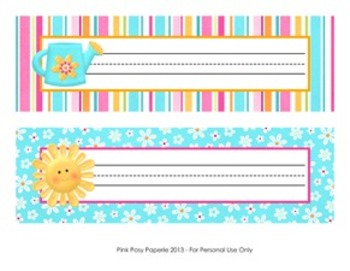 Hello Sunshine Classroom Decor Desk Name Plates