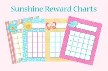 Hello Sunshine Incentive Reward Charts