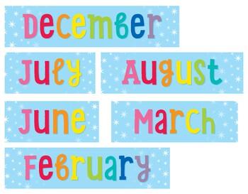 Hello Sunshine Rainbow Calendar