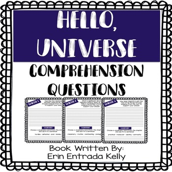 Hello, Universe - Comprehension Questions