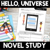 NOVEL STUDY - Hello, Universe - Text-Dependent Reading Response Notebook