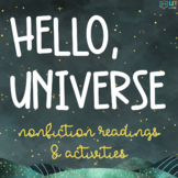 Hello Universe: Nonfiction Astronomy Readings & Activities Pack