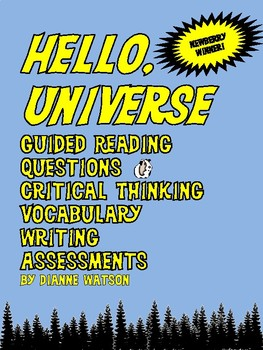 Hello, Universe Novel Study by Dianne Watson