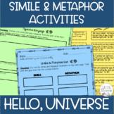 Simile & Metaphor Activities - Hello, Universe by Erin Entrada Kelly-Novel Study