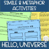 Hello, Universe Figurative Language Activities